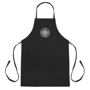 PAPA Crest Embroidered Apron