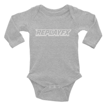 Load image into Gallery viewer, Replay FX Logo Infant Long Sleeve Bodysuit