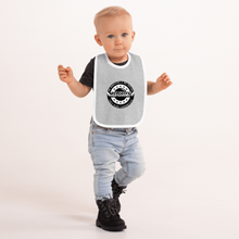 Load image into Gallery viewer, Replay FX Crest Embroidered Baby Bib