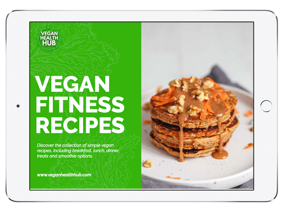 40 Vegan Fitness Recipes Ebook - Vegan Health Hub