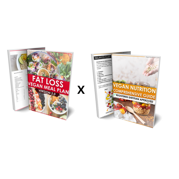 Fat Loss Guide x Comprehensive Vegan Nutrition Guide Bundle - Vegan Health Hub