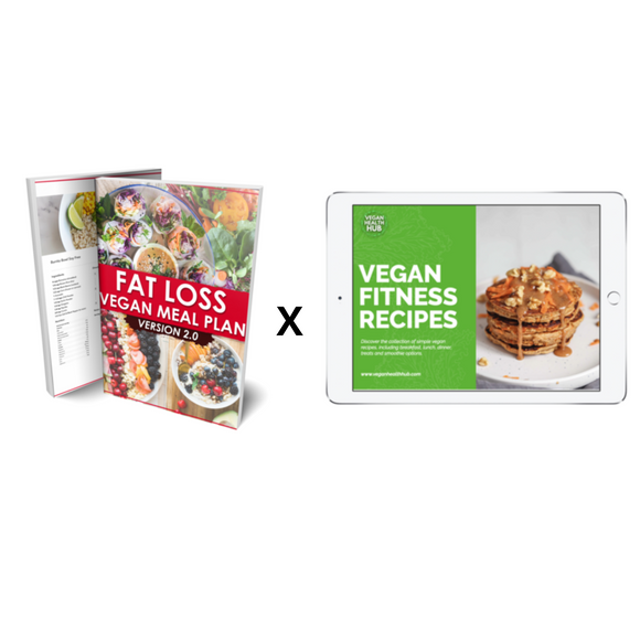 Fat Loss Guide x 40 Vegan Fitness Recipes Bundle - Vegan Health Hub