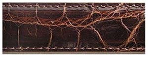 Alligator Brown Belt Strap