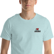 I love Aruba Short-Sleeve Unisex T-Shirt