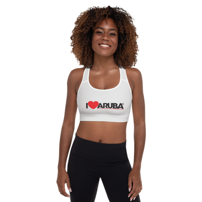 I love Aruba Padded Sports Bra
