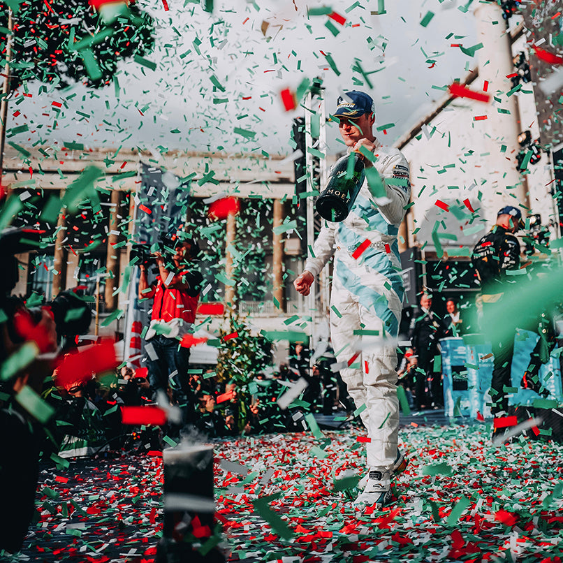 Vandoorne Gives HWA Racelab Its First Formula E Podium in Rome