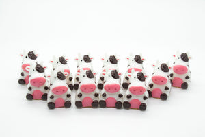 Cow Glossy Grin Cute Lip Balm Containers- DIY Empty refillable containers