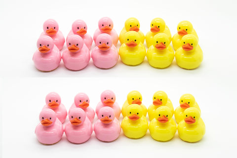 Rubber Ducks Glossy Grin Cute Lip Gloss Containers- DIY Empty refillable containers