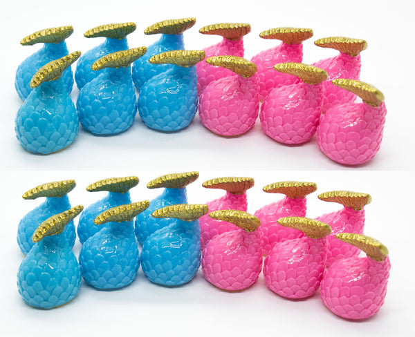 Mermaid Tales Glossy Grin Cute Lip Gloss Containers- DIY Empty refillable containers