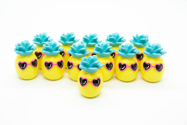 Pineapples Glossy Grin Cute Lip Gloss Containers- DIY Empty refillable containers