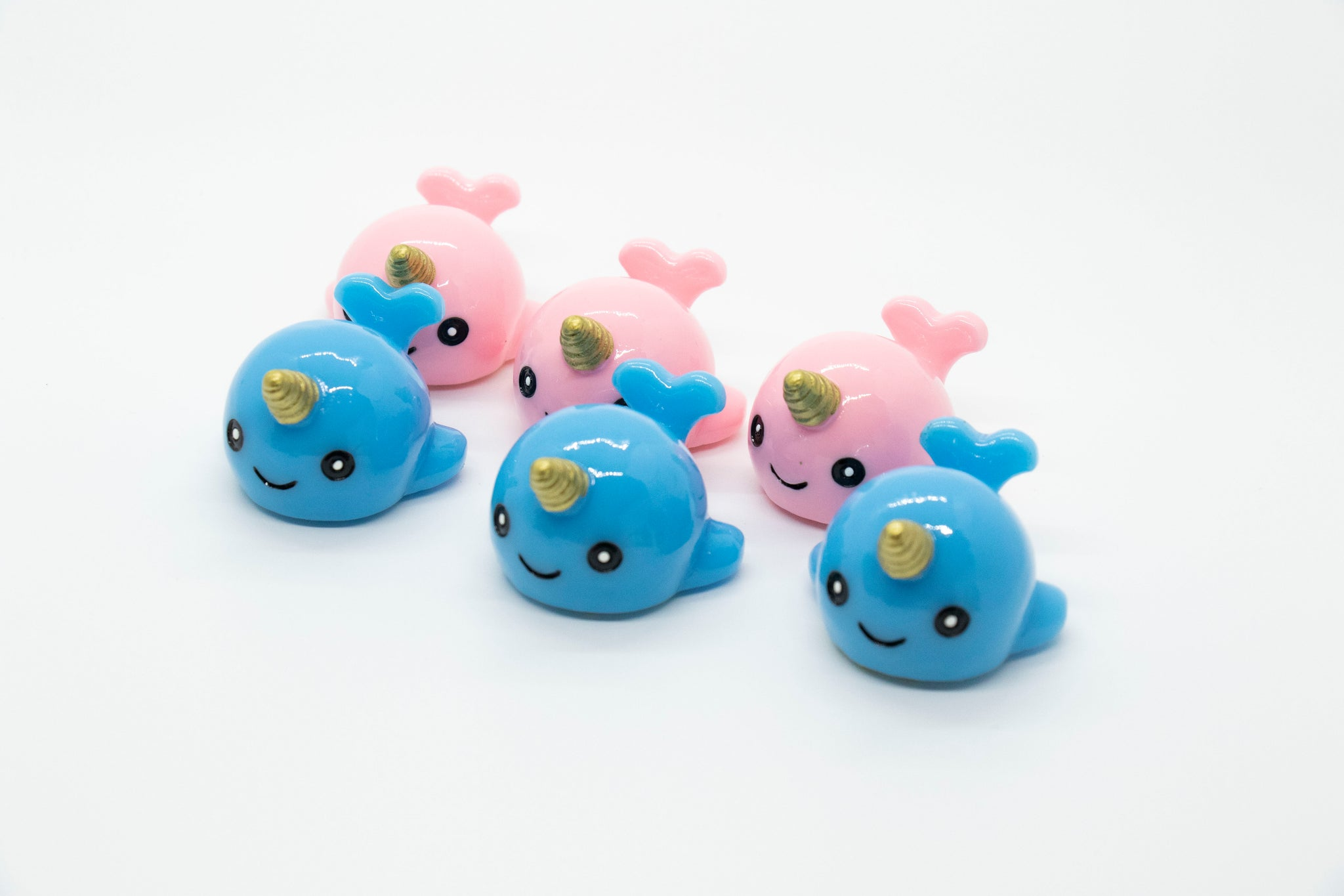 Narwhal Glossy Grin Cute Lip Balm Containers- DIY Empty refillable containers