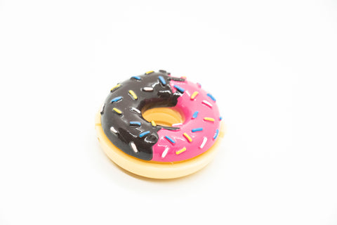 Donuts (A) Glossy Grin Cute Lip Balm Containers- DIY Empty refillable containers