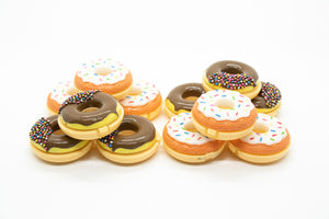 Donuts (B) Glossy Grin Cute Lip Balm Containers- DIY Empty refillable containers