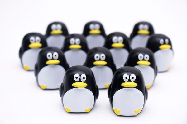 Penguin Glossy Grin Lip Gloss Containers - DIY Empty refillable containers