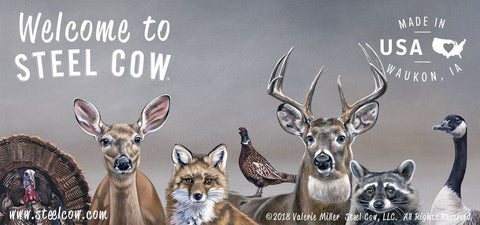 """Deer Friends"" Wildlife Collection"