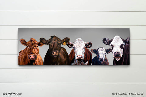 """Beefy Babes""™ 15th anniversary signed and numbered limited edition Canvas Print"