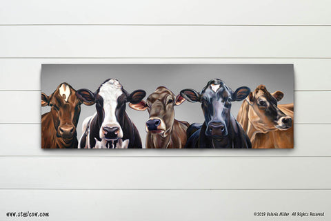 """Dairy Girls""™ 15th anniversary signed and numbered limited edition Canvas Print"
