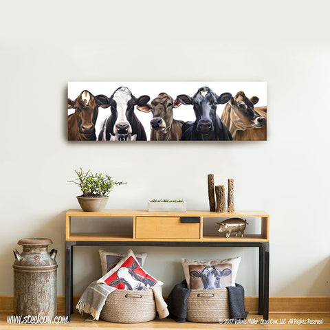 """Dairy Girls""™ Canvas Prints, 3 sizes available"
