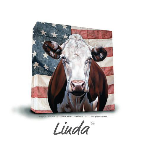 "Linda Americowna Collection 12""x12"" Canvas Print"