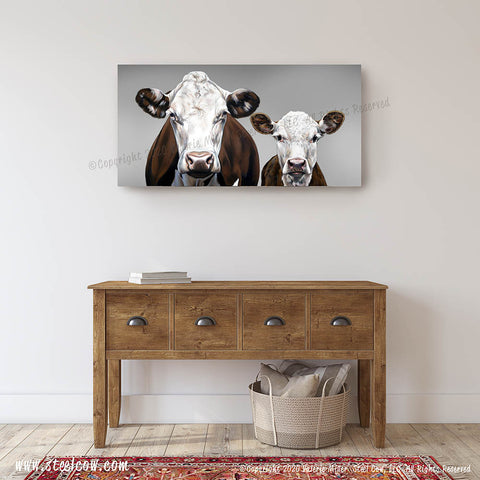 """Momma's Boy...Two"" Canvas Prints (4 sizes)"