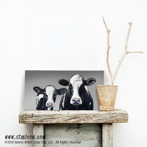 """Momma's Girl...Two"" Canvas Prints (3 sizes)"