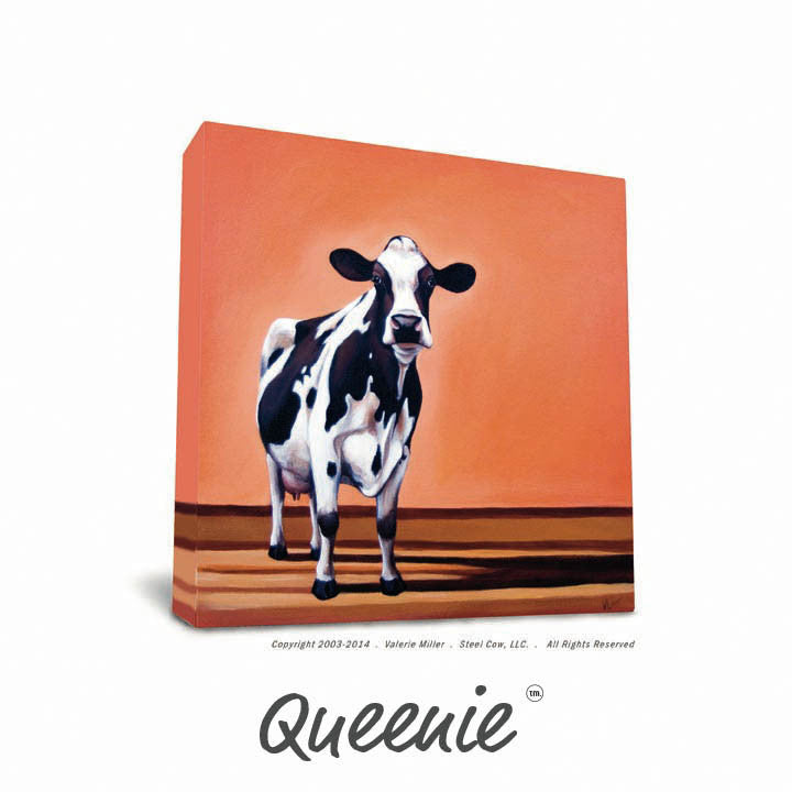 Steel Frame and Paper Print Combo 8x10 | Steel Cow