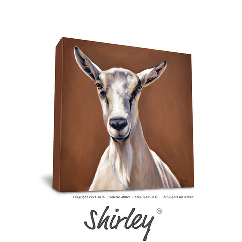 Shirley Canvas Print