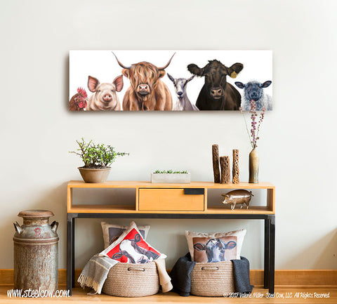 """The Girls and Friends...Two""™ Canvas Prints, TWO SIZES AVAILABLE"