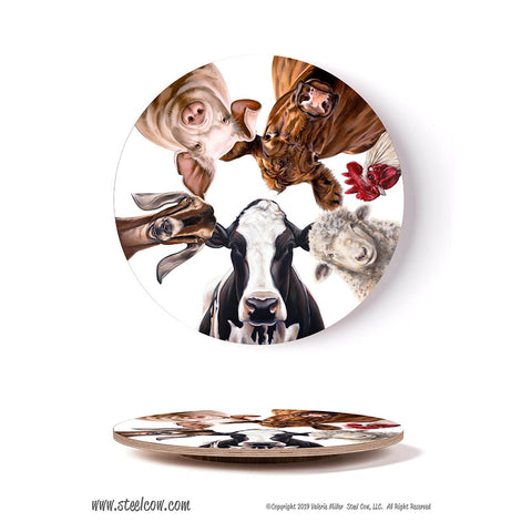 """The Girls & Friends"" Lazy Susan Signed and Numbered 15th anniversary Limited Edition of 50"
