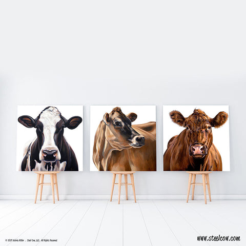 White Series Canvas Prints (15 images, 5 sizes)