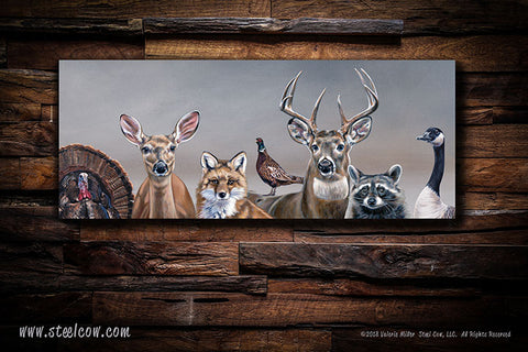 "New!!!  ""Deer Friends"" canvas prints!"