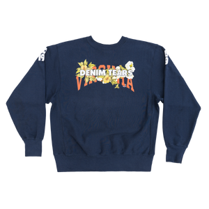 DENIM TEARS x VIRGINIA Crewneck