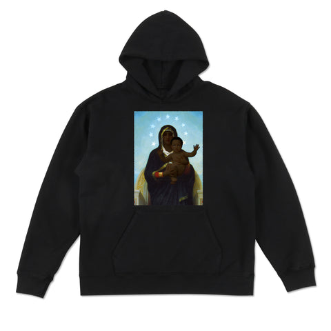 In the arms of the black Madonna Hoodie