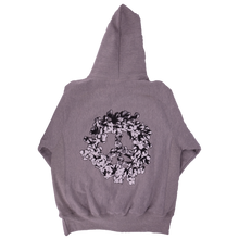Load image into Gallery viewer, Cotton Wreath Peace University Hoodie