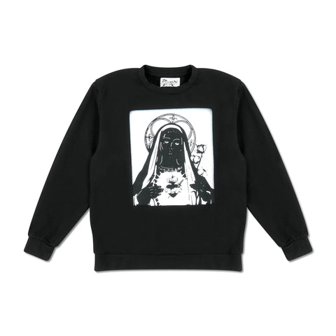 Saint Mary Monochromatic Crewneck