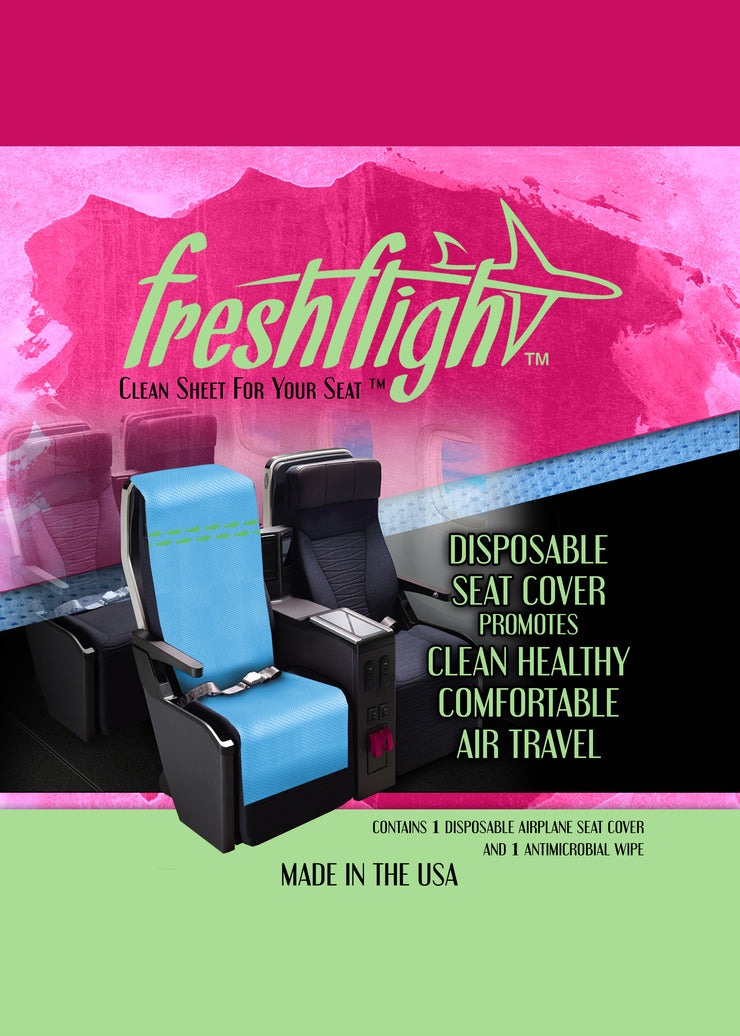 FreshFlight  - Disposable Airplane Seat Cover - Fresh Flight, LLC