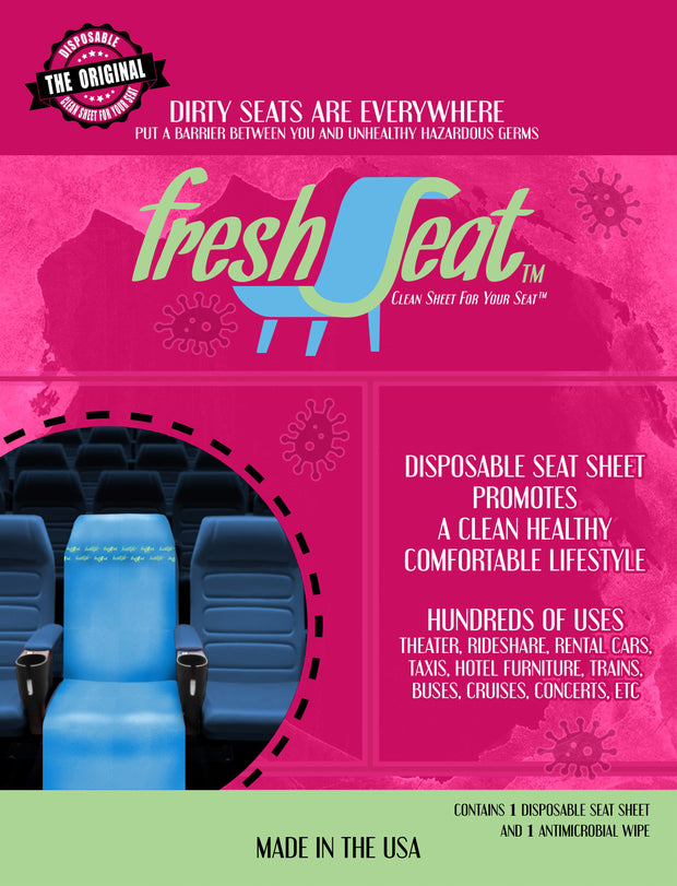 FreshSeat  - Disposable Seat Cover - Fresh Flight, LLC