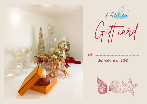 Gift card - valore 50€