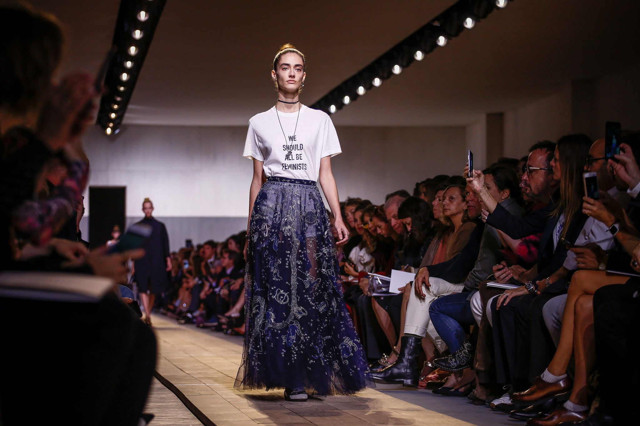 Feminism, Fencing and Tarot Cards in Chiuri's Debut for Dior