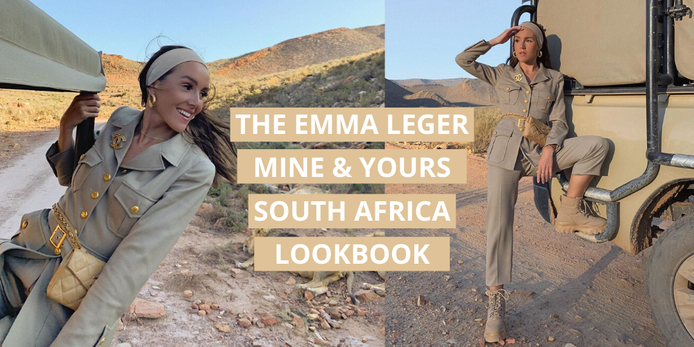 Emma Leger x Mine & Yours South Africa Lookbook