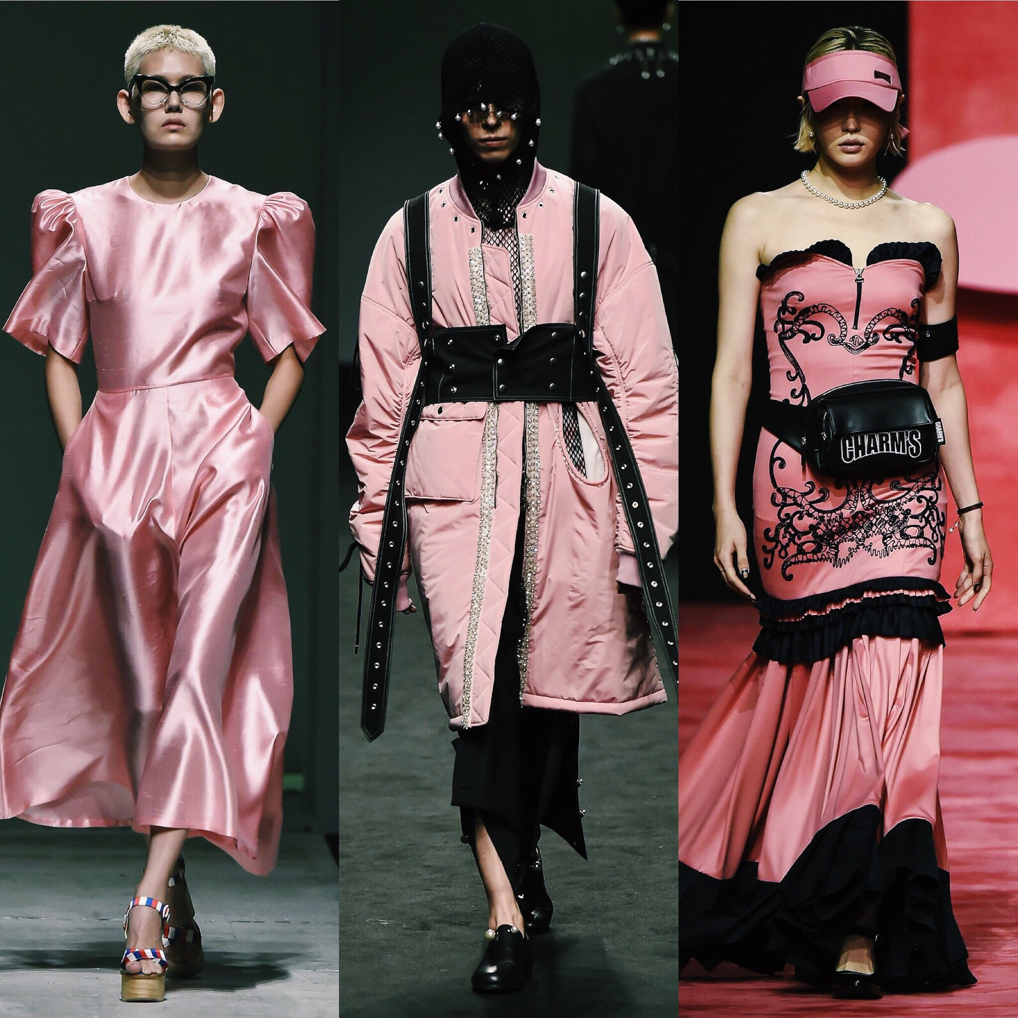 The Pink Fever in Seoul Fashion Week