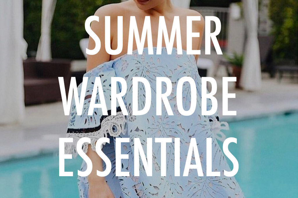 Trend Alert: Summer Wardrobe Essentials