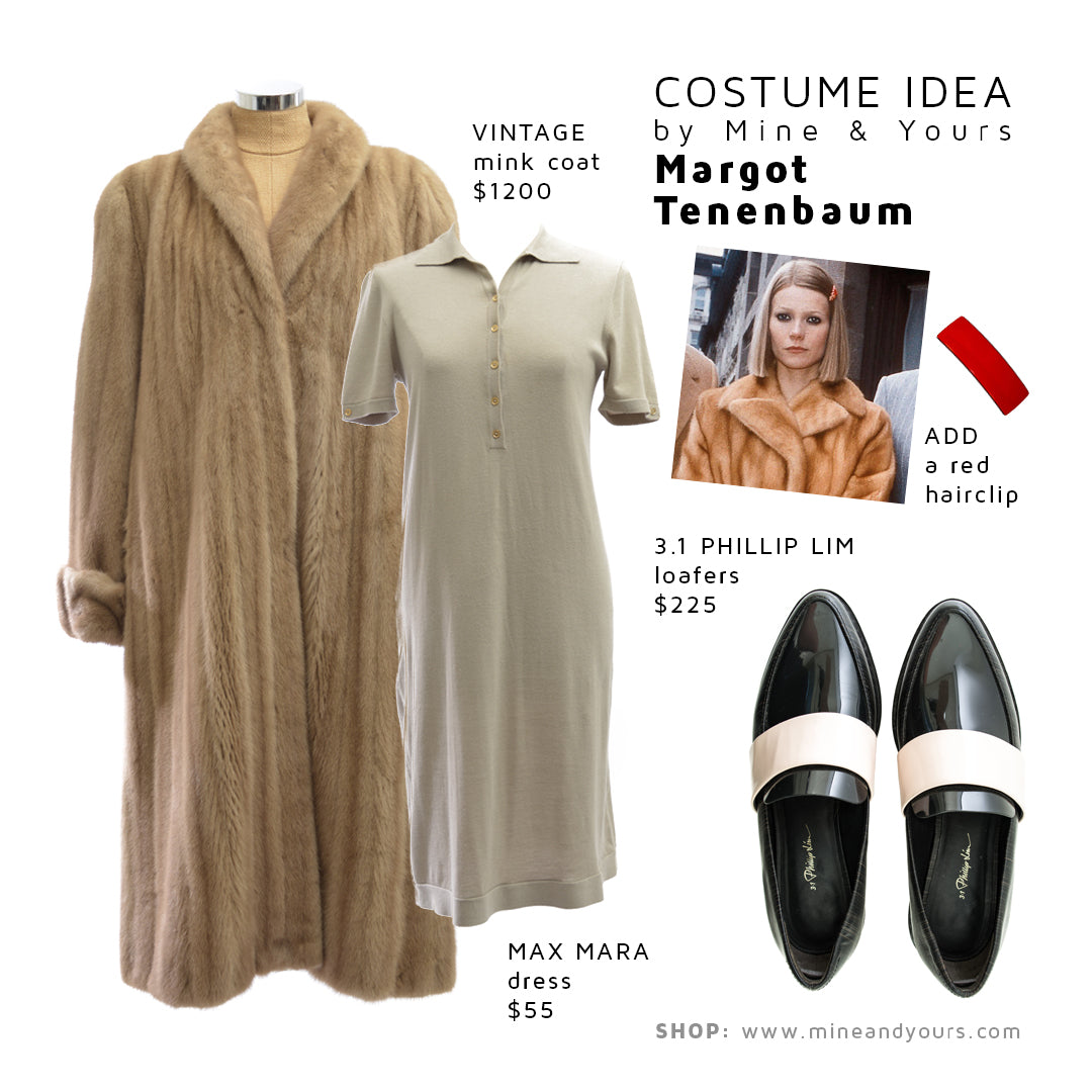 chic halloween costumes | mine & yours | pre owned designer + luxury