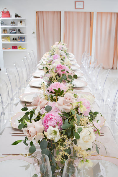Aly Armstrong Event Planning and Design table