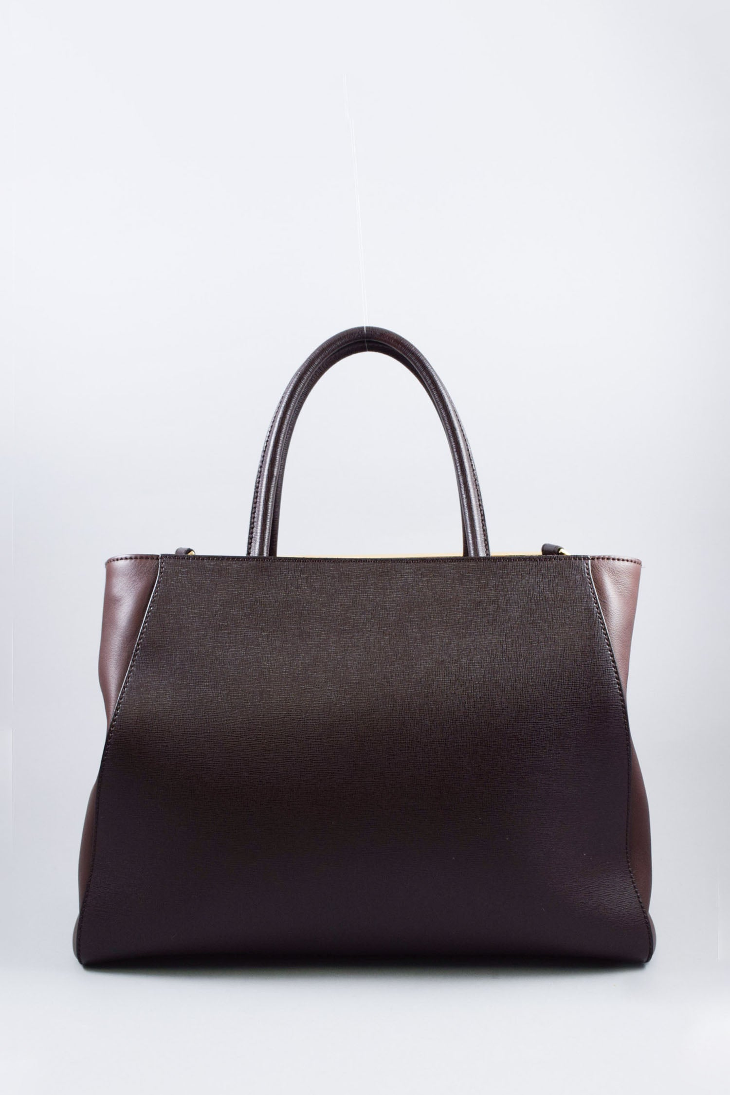 Fendi Brown Medium 2Jours Handbag