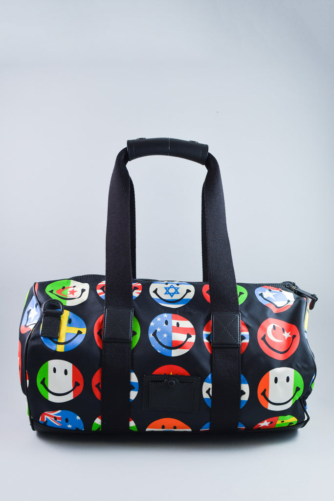 Moschino Smiley Flags Duffle Bag