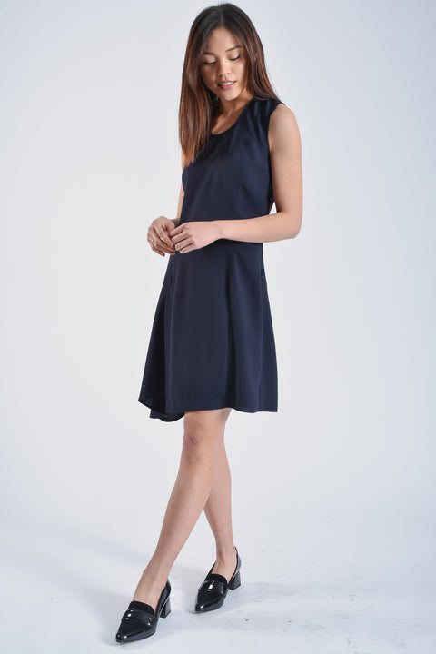 Acne Studios Navy Dress