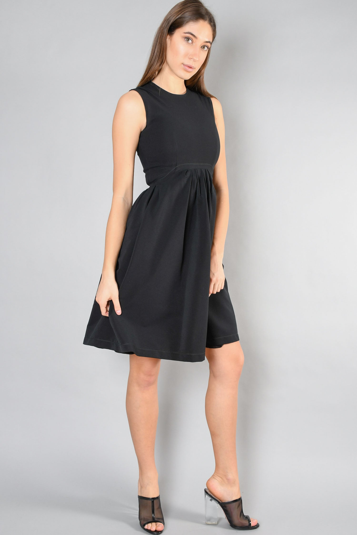 Preen By Thornton Bregazzi Black Dress Size XS