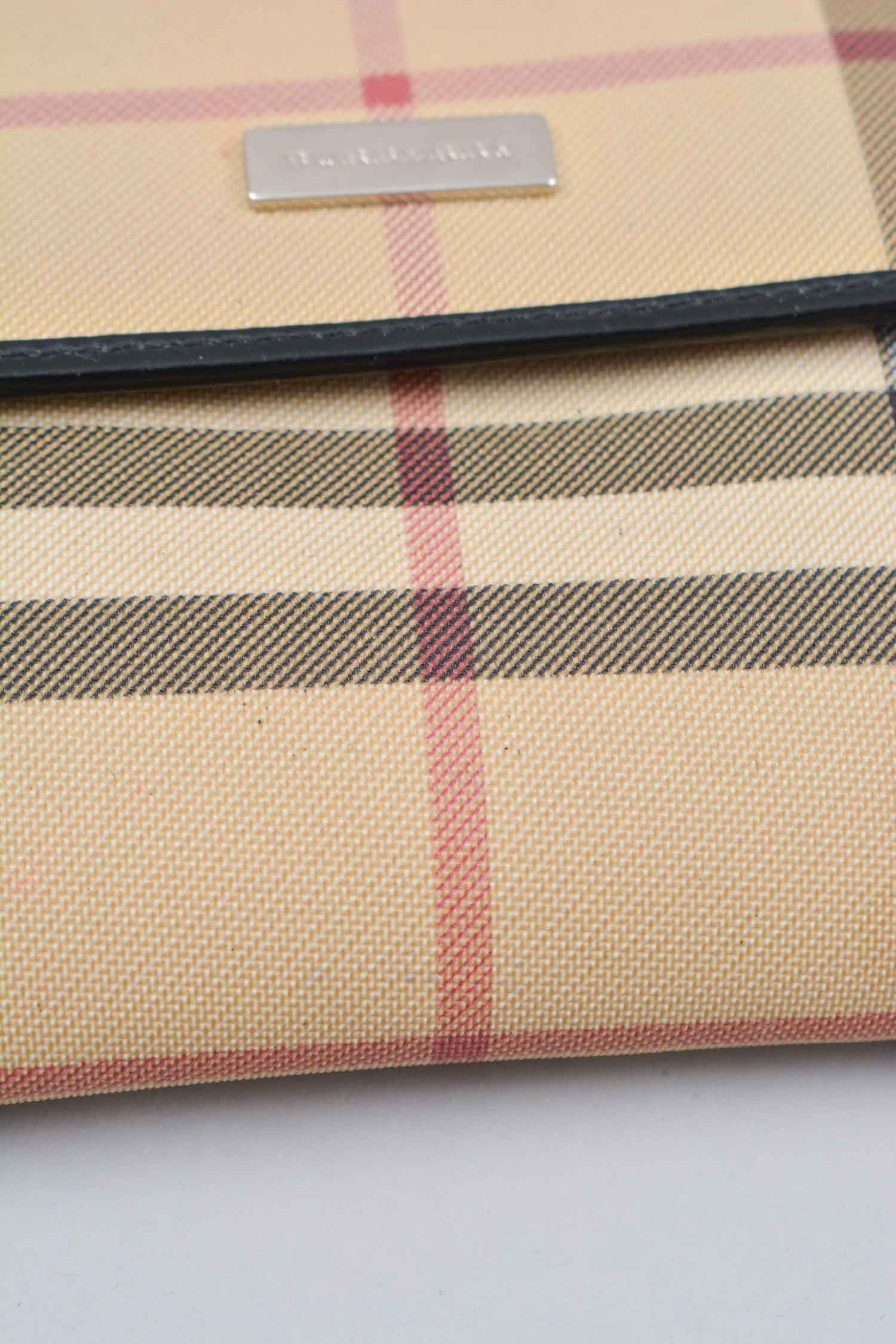 Burberry House Check Coated Canvas Wallet
