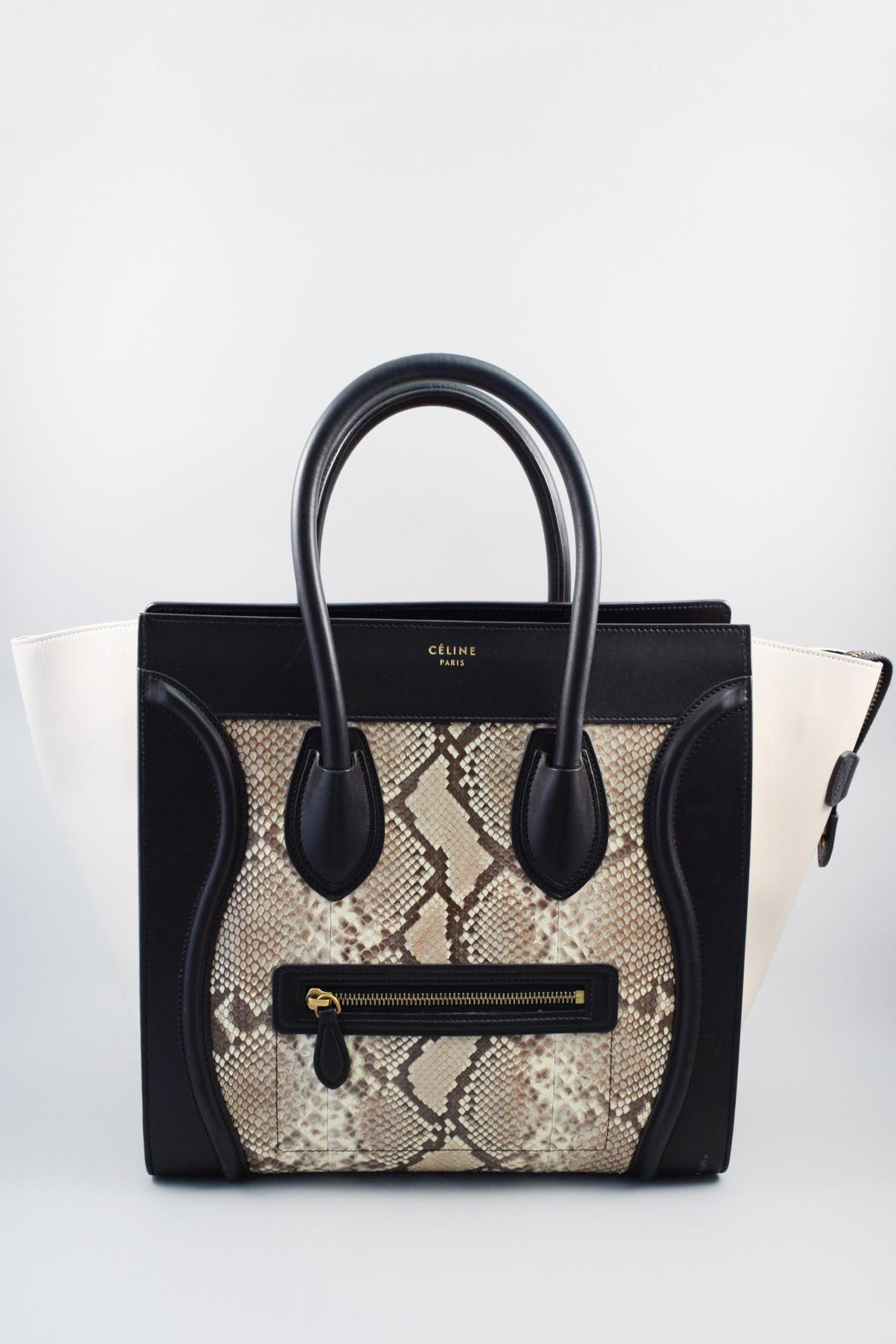 Celine Python Mini Luggage